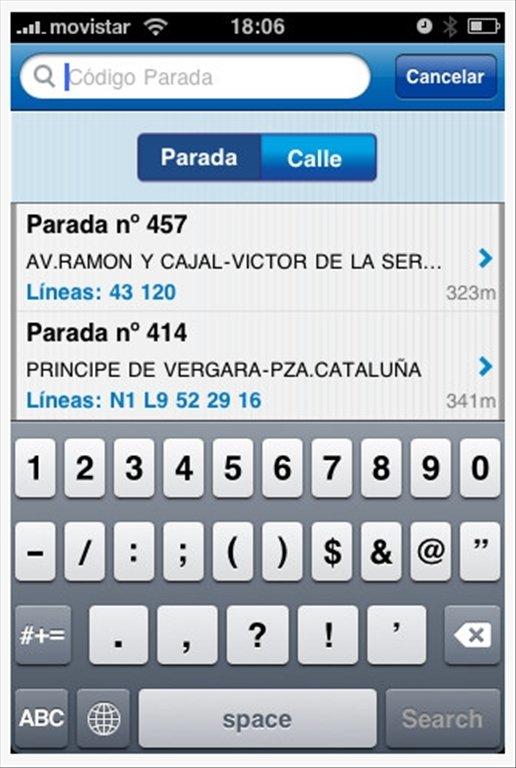 EMT Madrid iPhone image 5