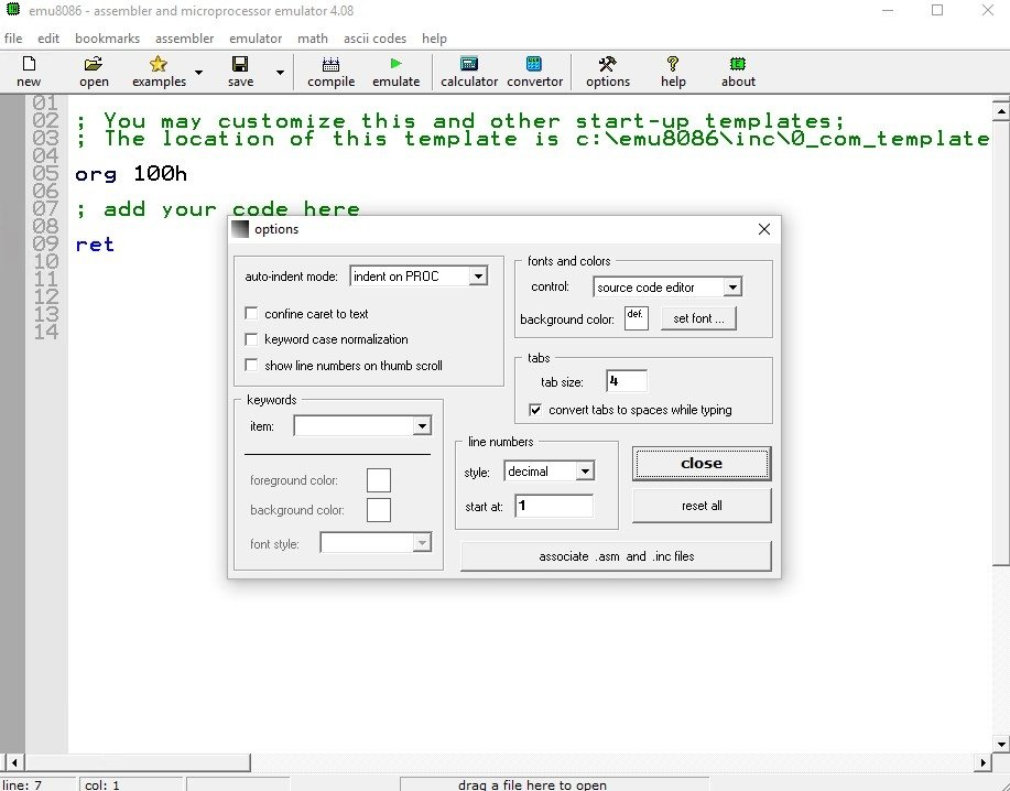 Emu8086 4 08 - Download for PC Free