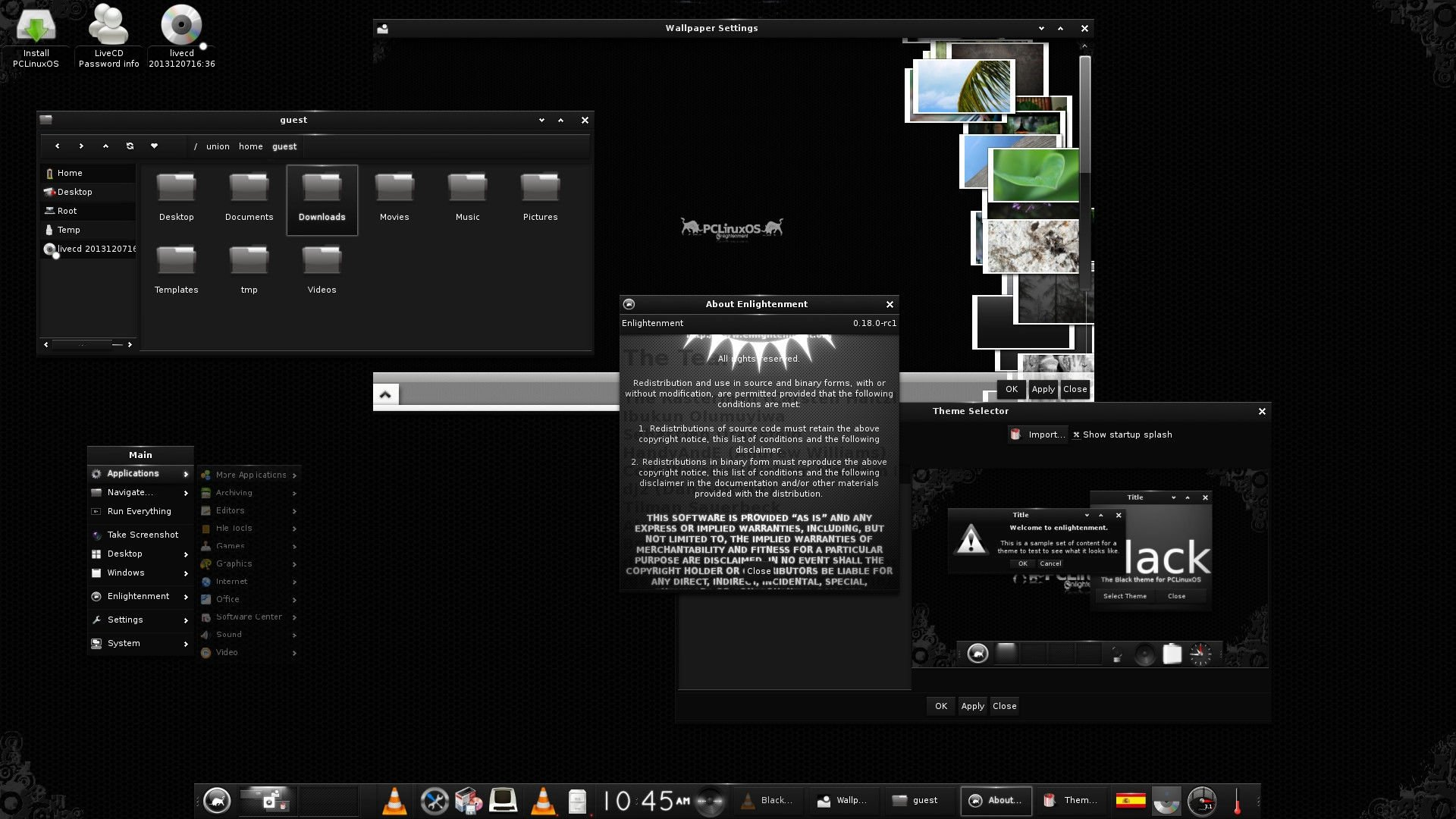 Enlightenment Linux image 2