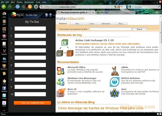 Epic Browser 3.1