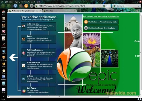 Epic Browser 71 0 3578 95 - Download for PC Free