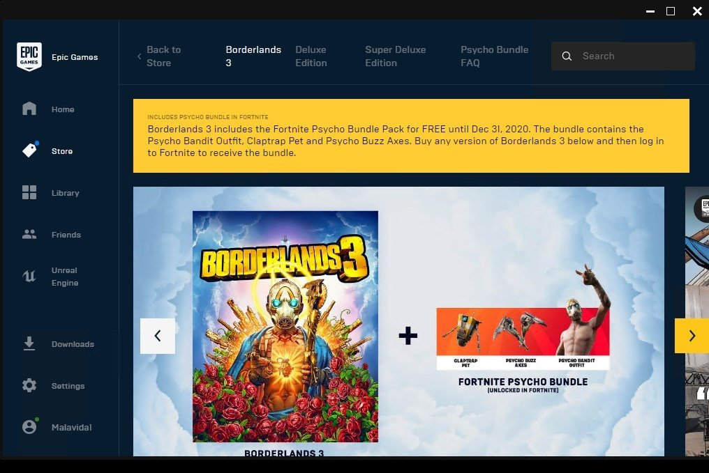 epic games for pc free download