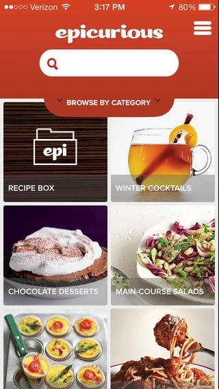 Epicurious Recipes & Shopping List iPhone image 5