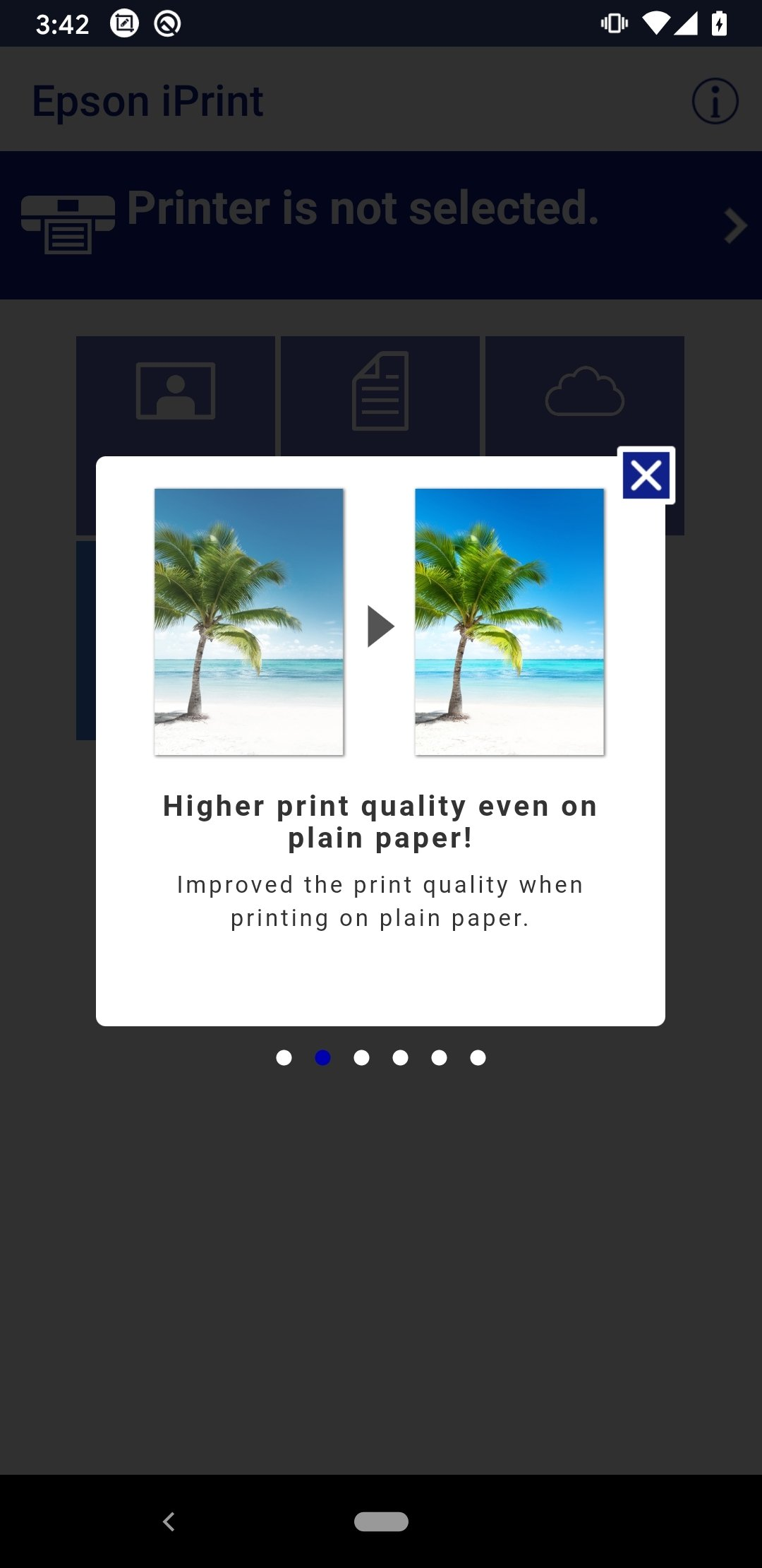 epson iprint android