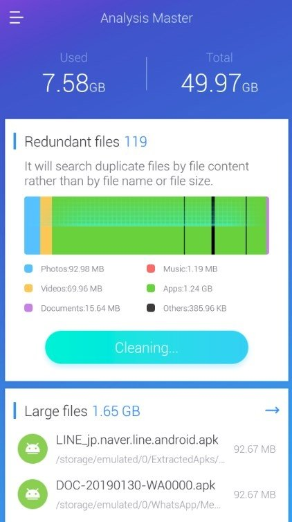 Es Disk Analyzer 1 0 2 9 Download For Android Apk Free