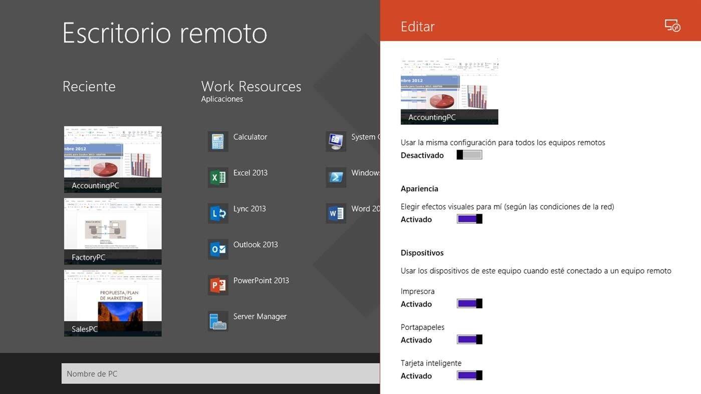 Descargar escritorio remoto de microsoft gratis en espa ol for Conexion escritorio remoto windows 8