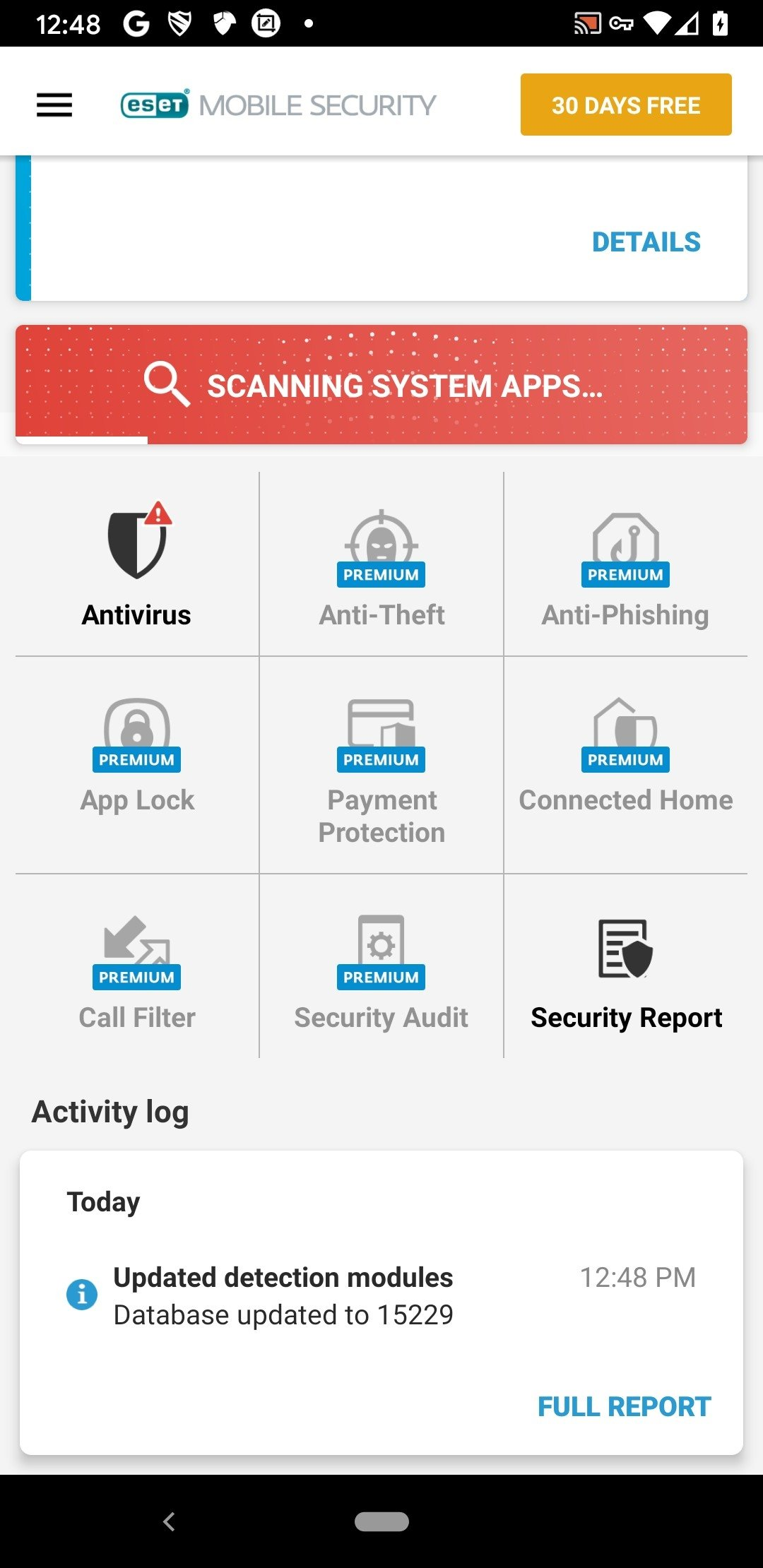 ESET Mobile Security 5 1 25 0 - Download for Android APK Free