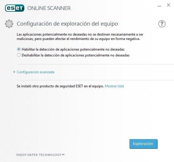 ESET Online Scanner image 4