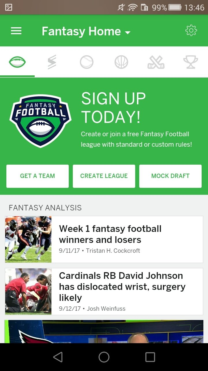 Espn Fantasy Sports 7 4 4 Download For Android Apk Free