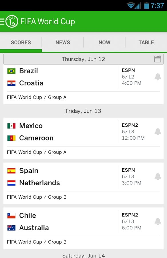 ESPN FC Soccer & World Cup Android image 8