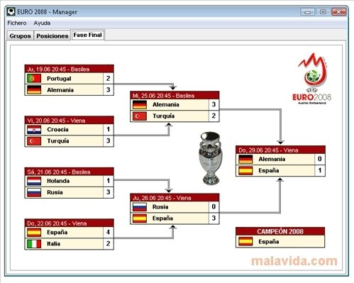 EURO 2008 Manager image 4