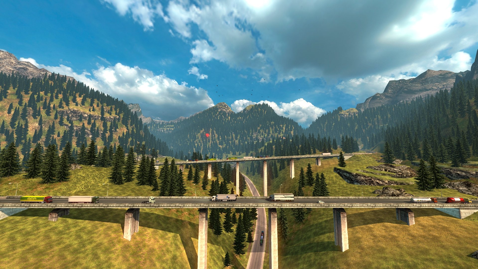 Euro Truck Simulator 2 - Download for Mac Free