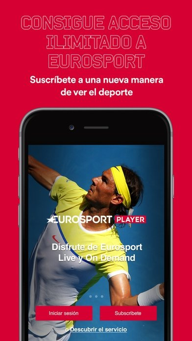 Eurosport Player iPhone image 5