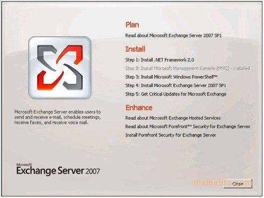 Exchange Server 2007 SP2 image 2