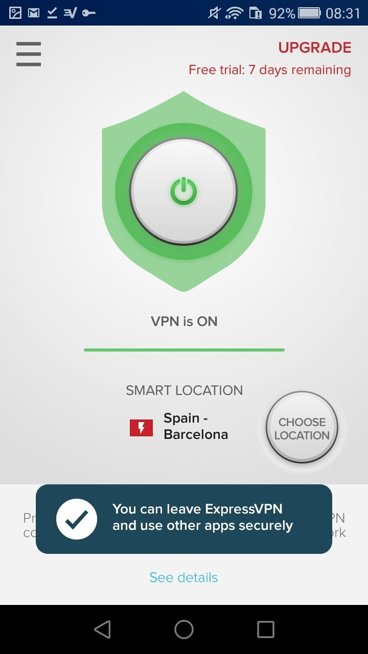 ExpressVPN 7 5 2 - Download for Android Free