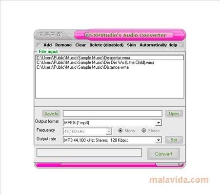 EXPStudio Audio Converter image 3
