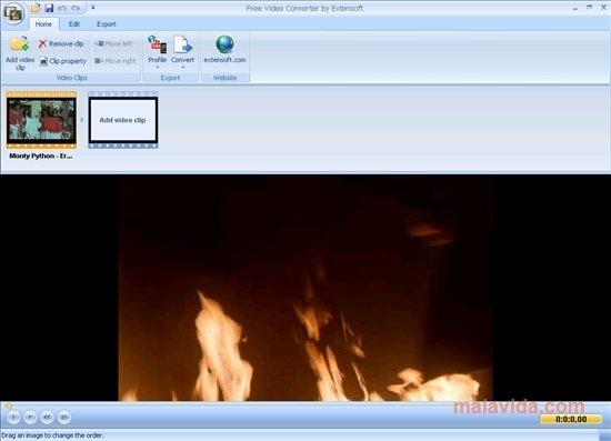 Extensoft Free Video Converter image 4