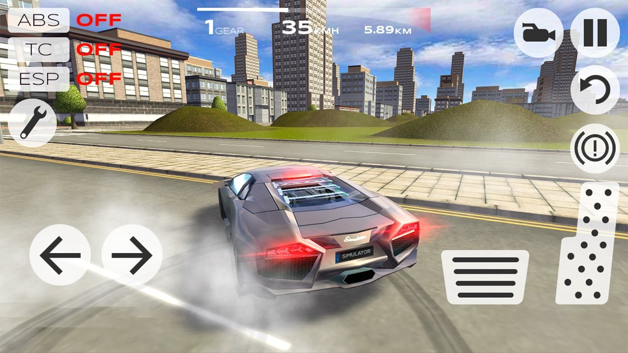 Extreme Car Driving Simulator Android image 5