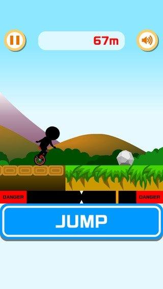 Extreme Unicycle iPhone image 2