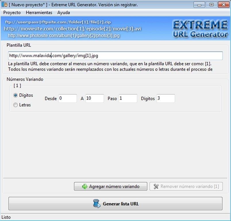 Extreme URL Generator image 4