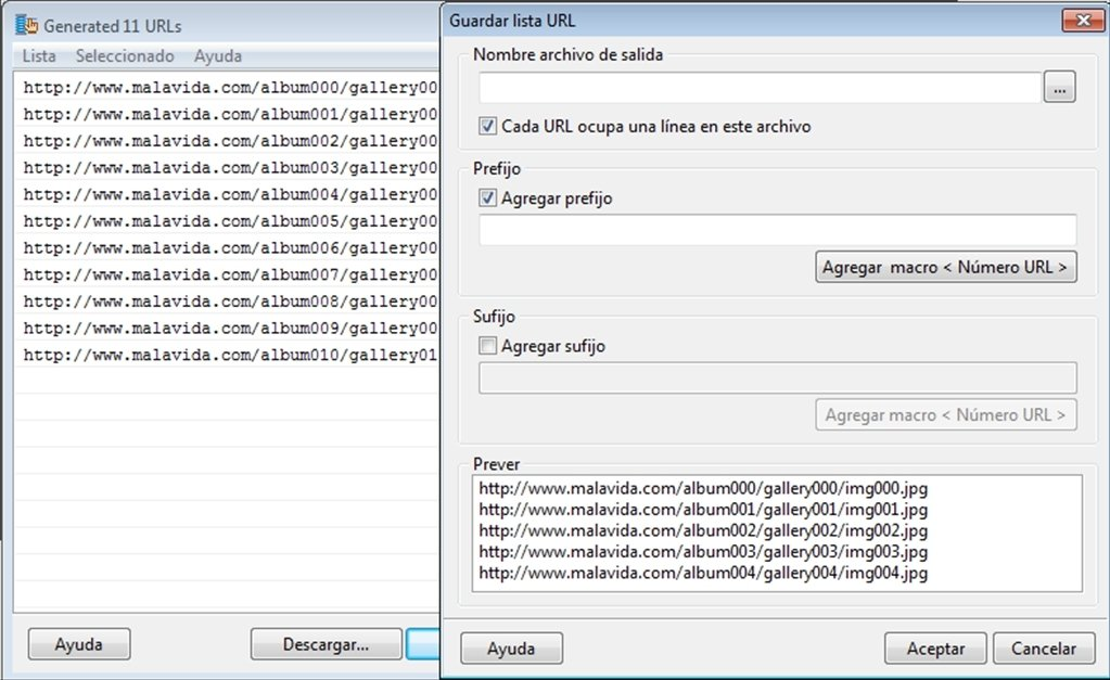 Extreme URL Generator 1 4 0 2 - Download for PC Free