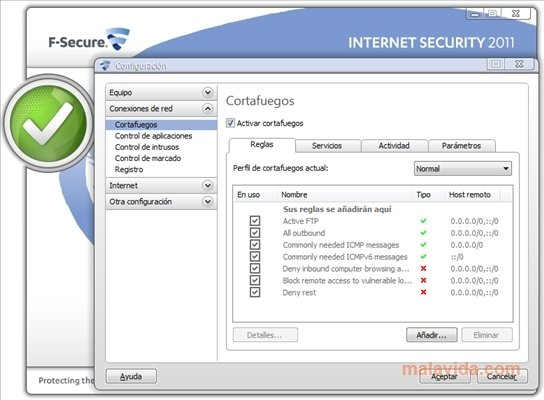 F-Secure Internet Security 2011 - PC用ダウンロード無料