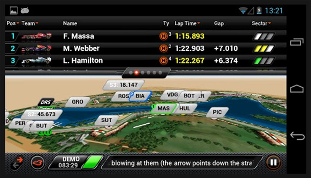 F1 Timing App Android image 8