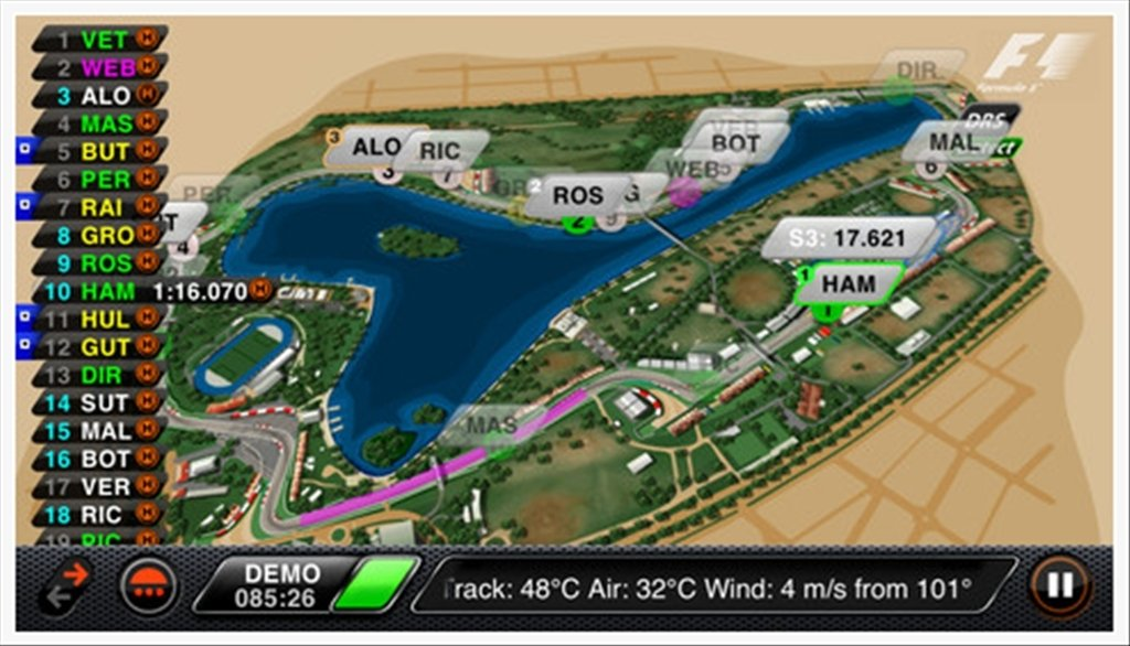 F1 Timing App iPhone image 5