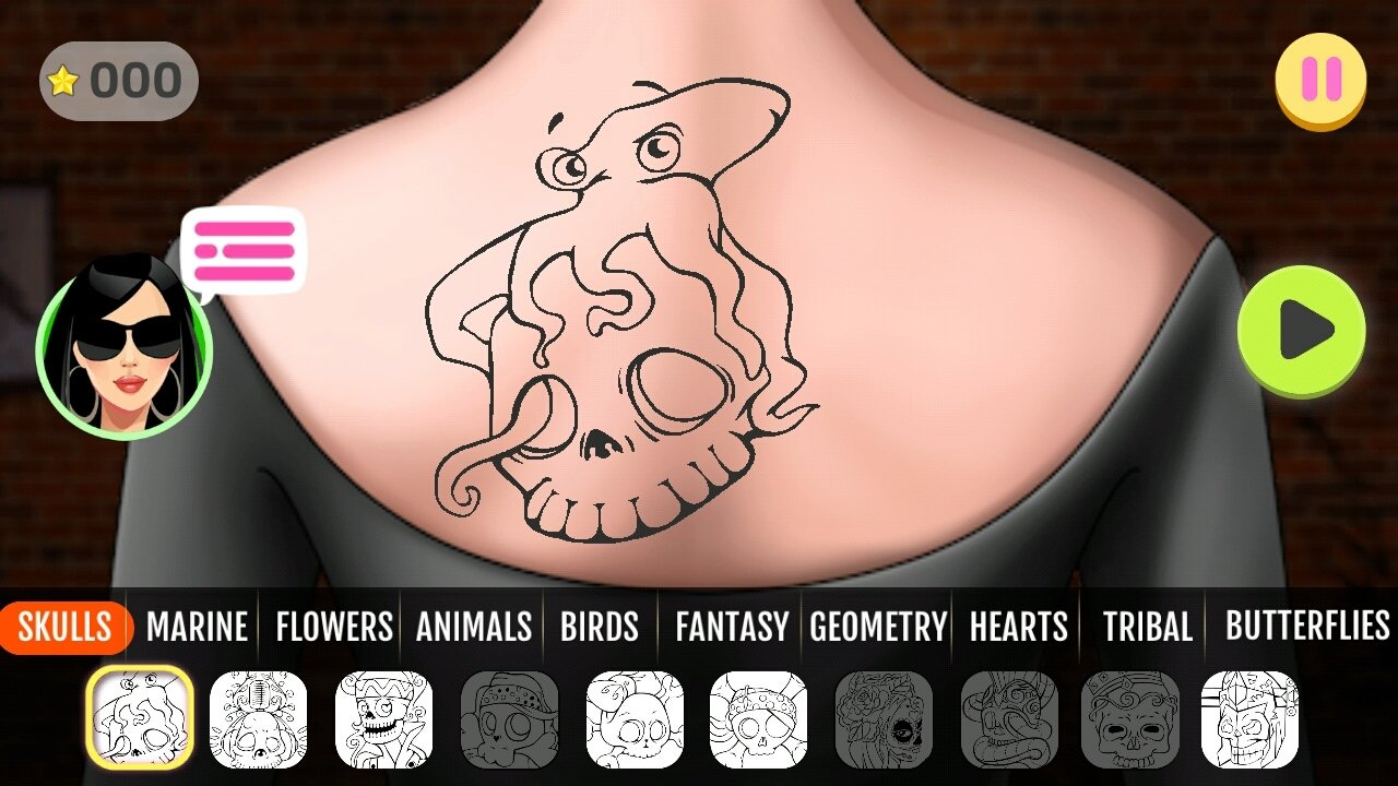 Download Fab Tattoo Design Studio Android APK Free - Design your own tattoo game