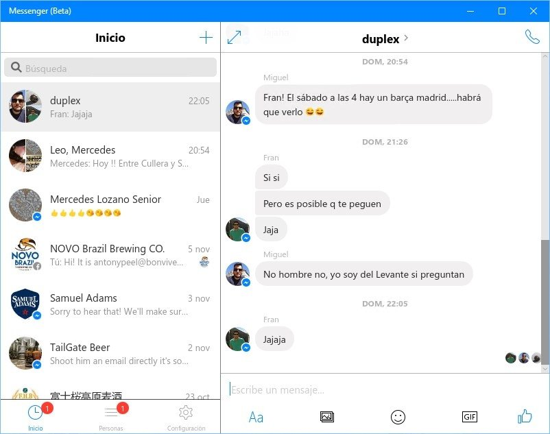 how to download facebook messenger for windows 7