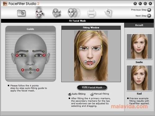 facefilter studio 2