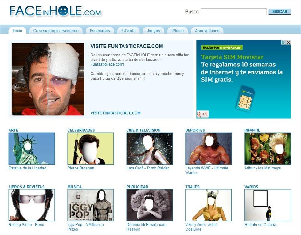 FACEinHOLE Webapps image 6
