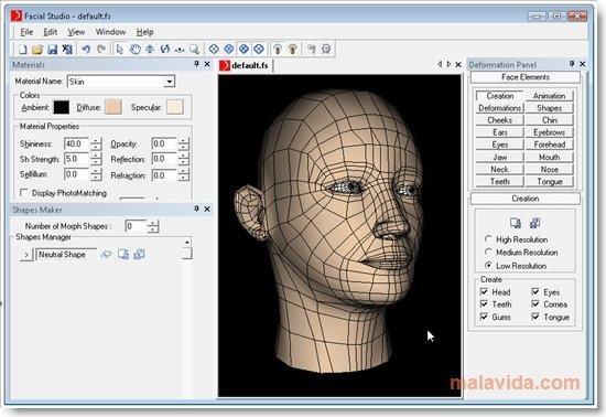 Facial Studio image 5