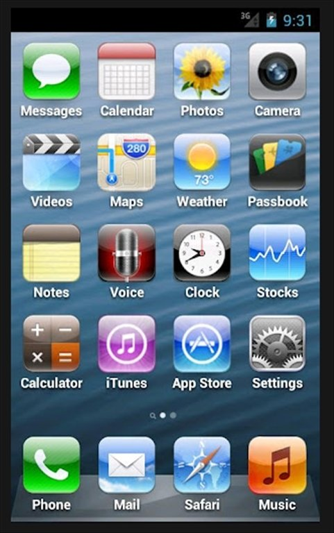 Fake iPhone Android image 5