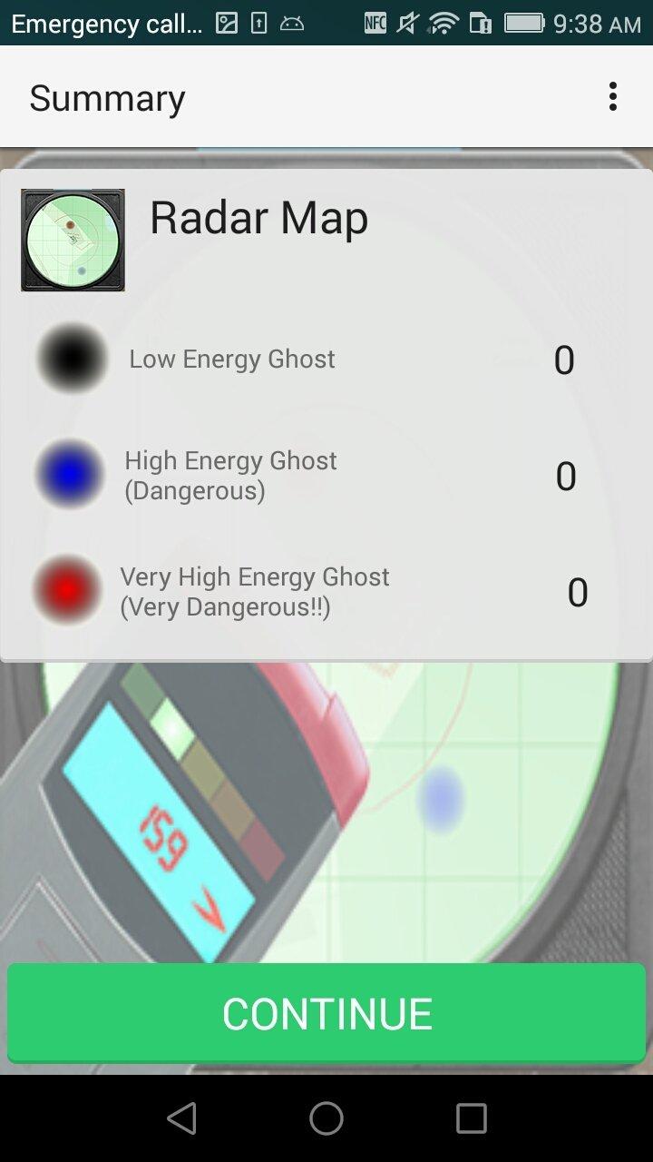 Radar-radar fantasma-detector d dispositivo oculto APK