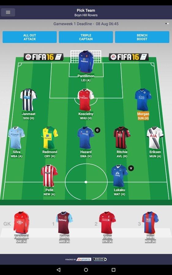 Fantasy Premier League Android image 5