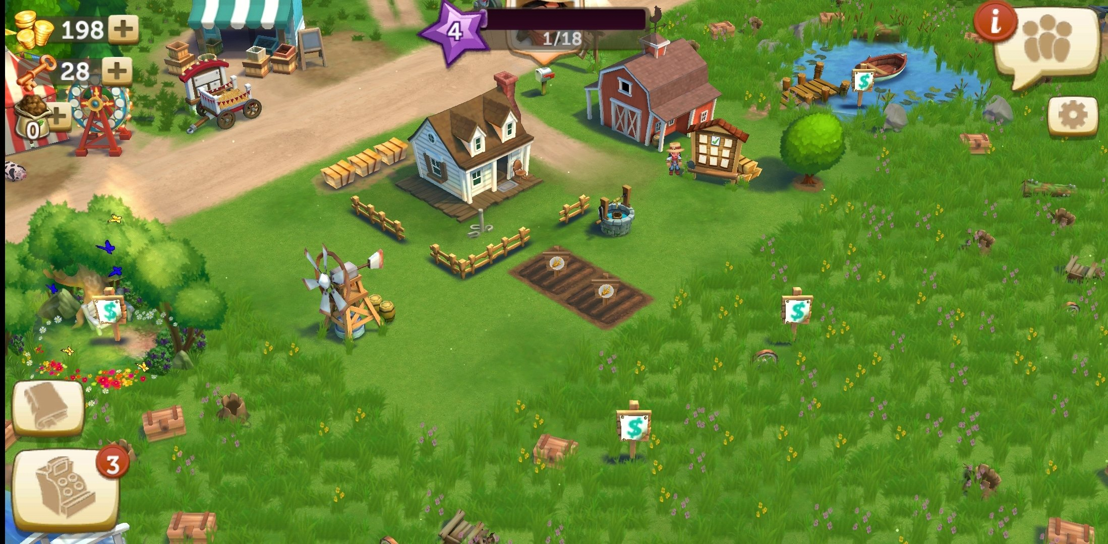 FarmVille Android image 5