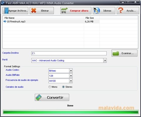 Fast Amr M4a Ac3 Wav Mp3 Wma Audio Converter 32 Download Für Pc