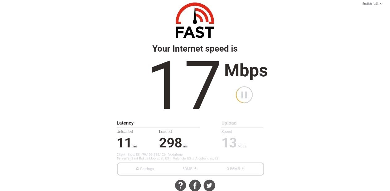internet fast test