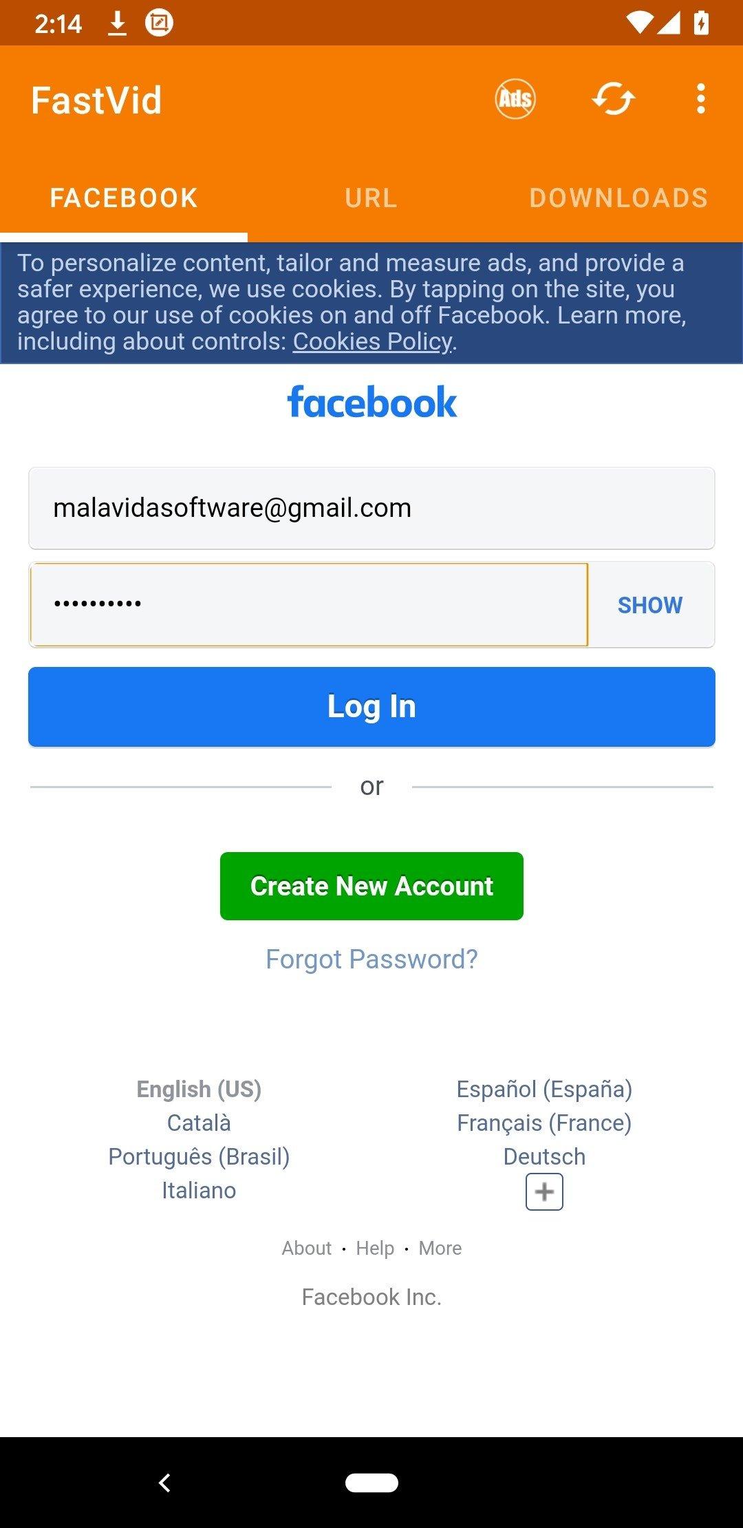 Fb Downloader 2 9 - Télécharger pour Android APK Gratuitement