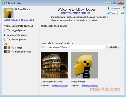 fbDownloader 1 0 2 0 - Download for PC Free