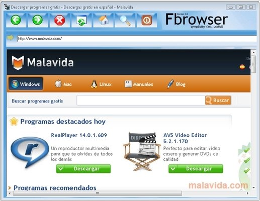 FBrowser image 5