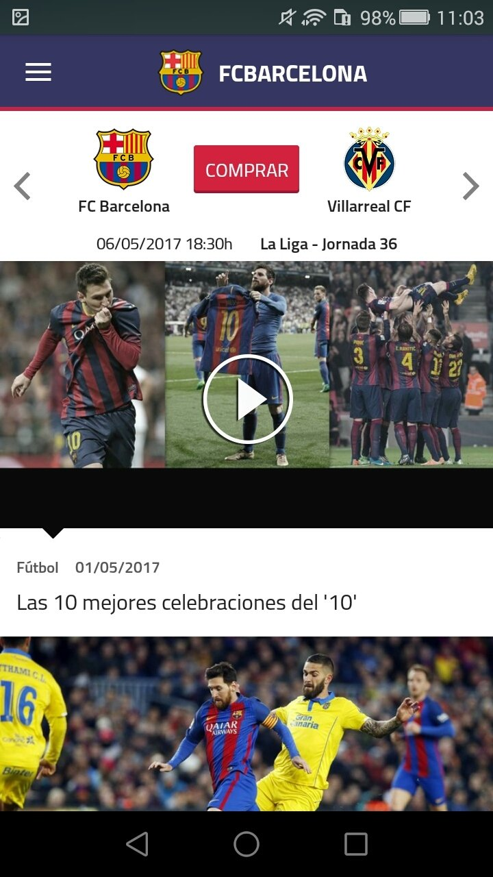 FC Barcelona Official App Android image 8