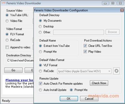 Feneris YouTube Downloader image 3
