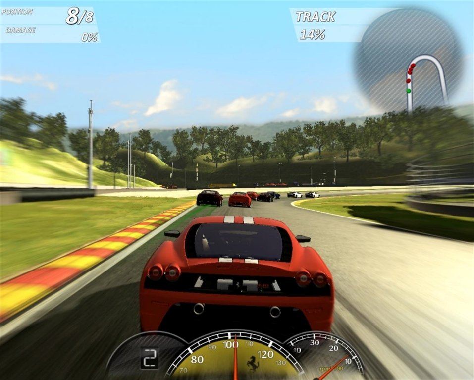 Ferrari virtual race full