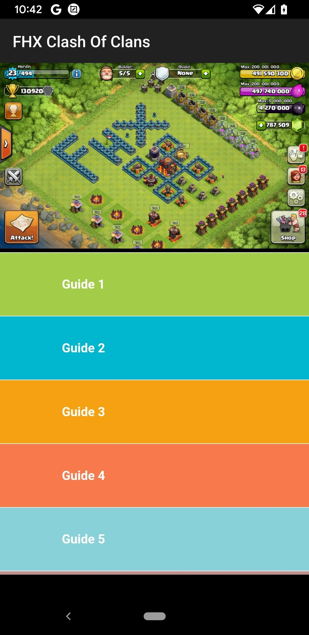 FHX Clash Of Clans Android image 5