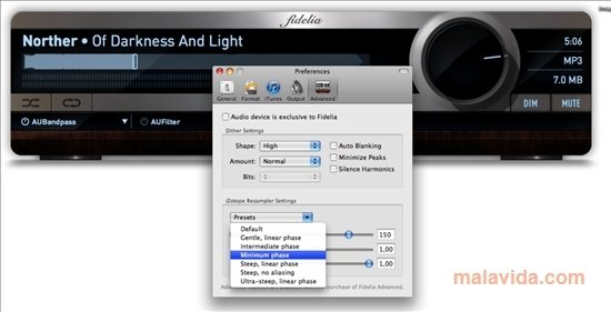 Fidelia 1 6 5 - Download for Mac Free