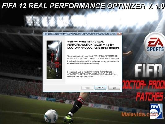 FIFA 12 Real Performance Optimizer image 3