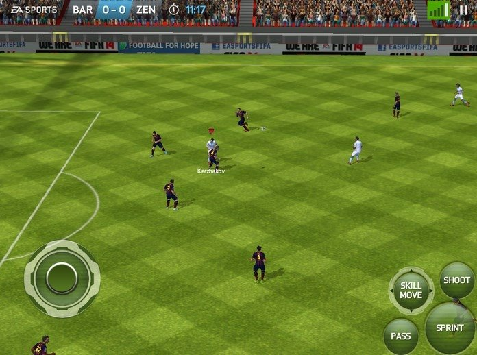 FIFA 14 Android image 4