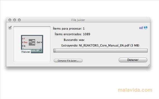 File Juicer 4 76 - Download for Mac Free